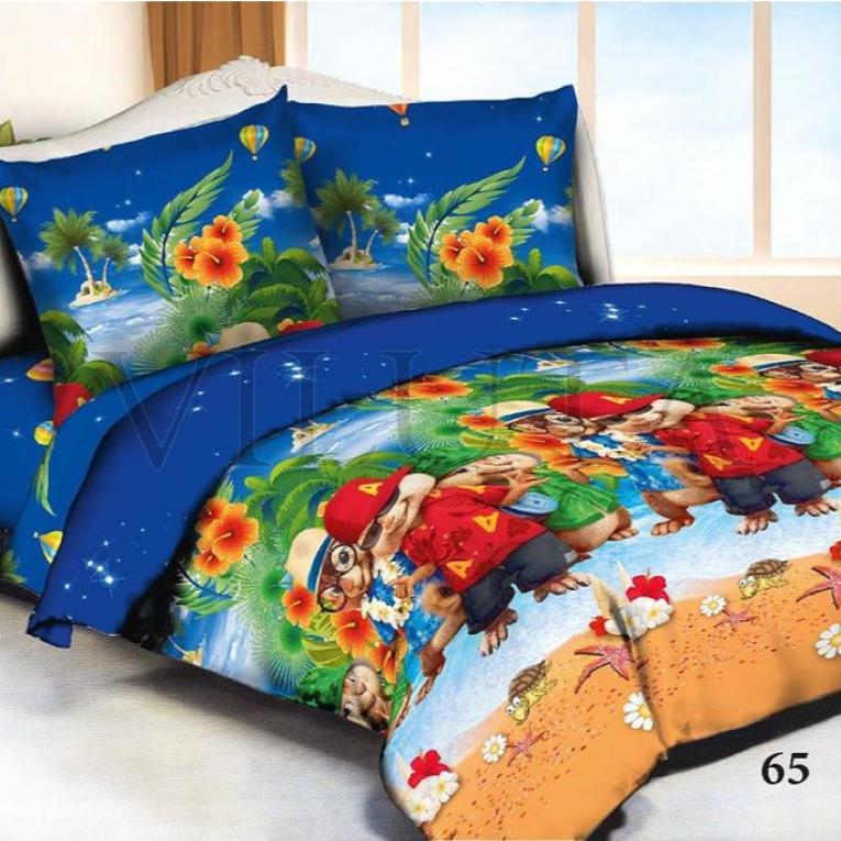 Стеганое покрывало на детскую кровать полуторную ТМ Вилюта 65