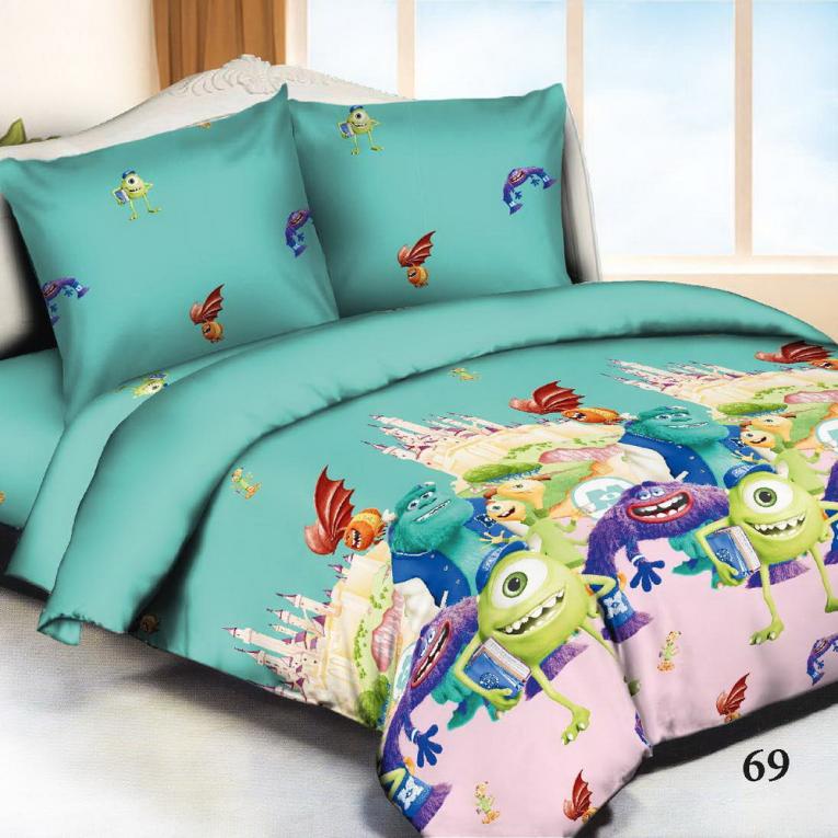 Детское покрывало на кровать полуторную ТМ Вилюта 69 микрофибра