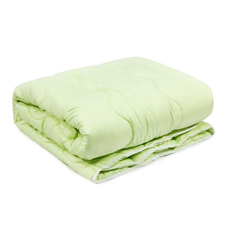 Зимнее одеяло бамбуковое теплое полуторное стеганое Вилюта Bamboo