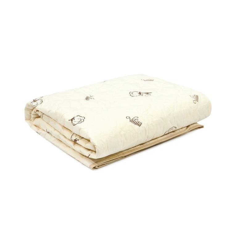 Летнее одеяло полуторное хлопковое Вилюта ТМ стеганое