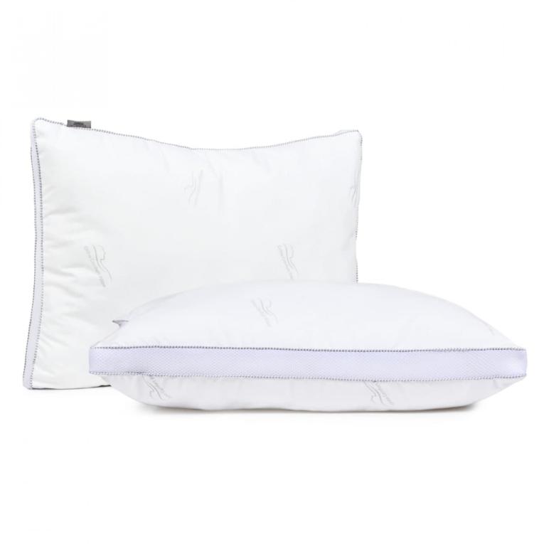 Антиаллергенная силиконовая подушка для сна 50 на 70 Вилюта Air Dream с аэросеткой