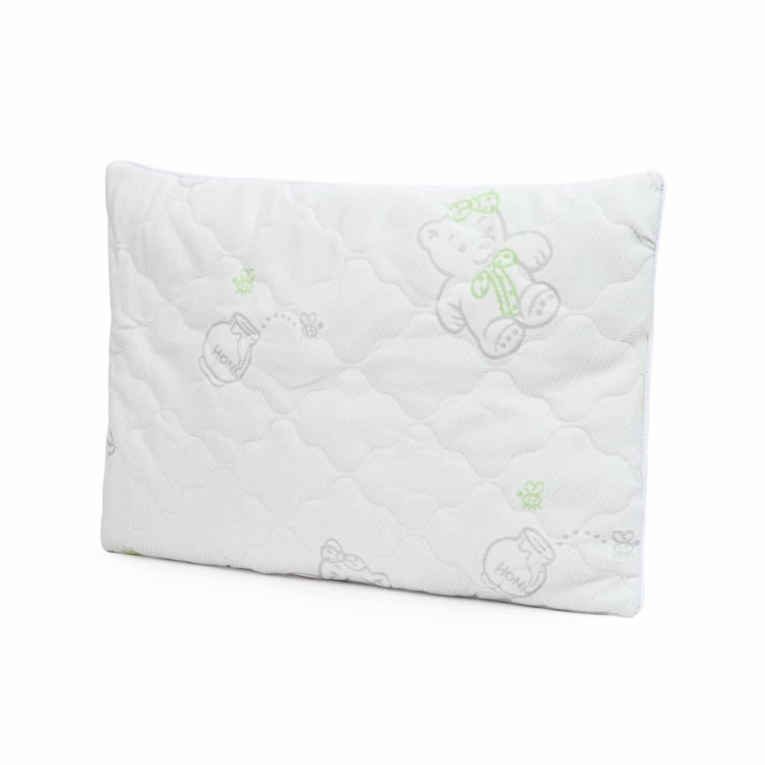 Вилюта подушка для новорожденных в кроватку трикотаж 40х60