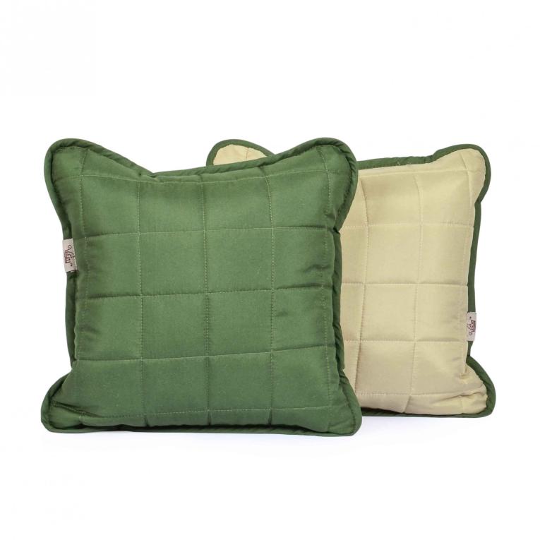 Декоративная подушка 40х40 Вилюта Дуэт оливка