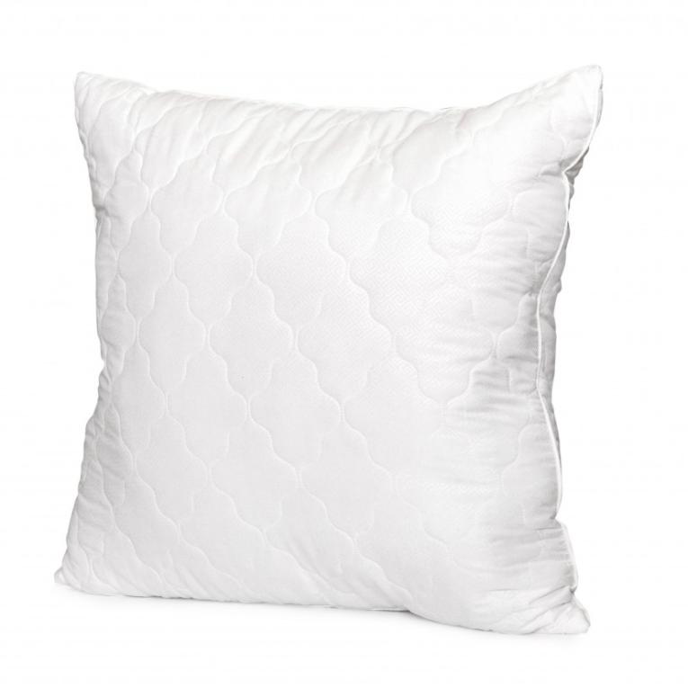 Антиаллергенная силиконовая подушка 70 на 70 Вилюта Relax на молнии квадратная