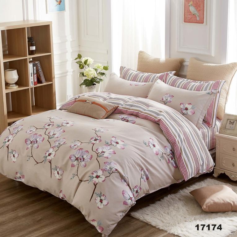 Семейный набор постельного белья Вилюта 17174 орхидеи