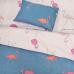Подростковое постельное белье Вилюта ранфорс 19007 с розовым фламинго