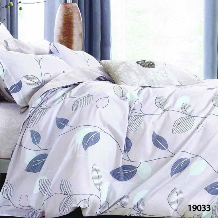 Двоспальна постільна білизна 19033 Вілюта на двоспальне ліжко