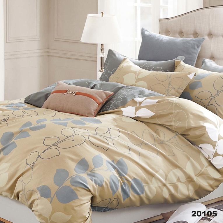 Набор постельное белье полуторное ранфорс Вилюта 20105