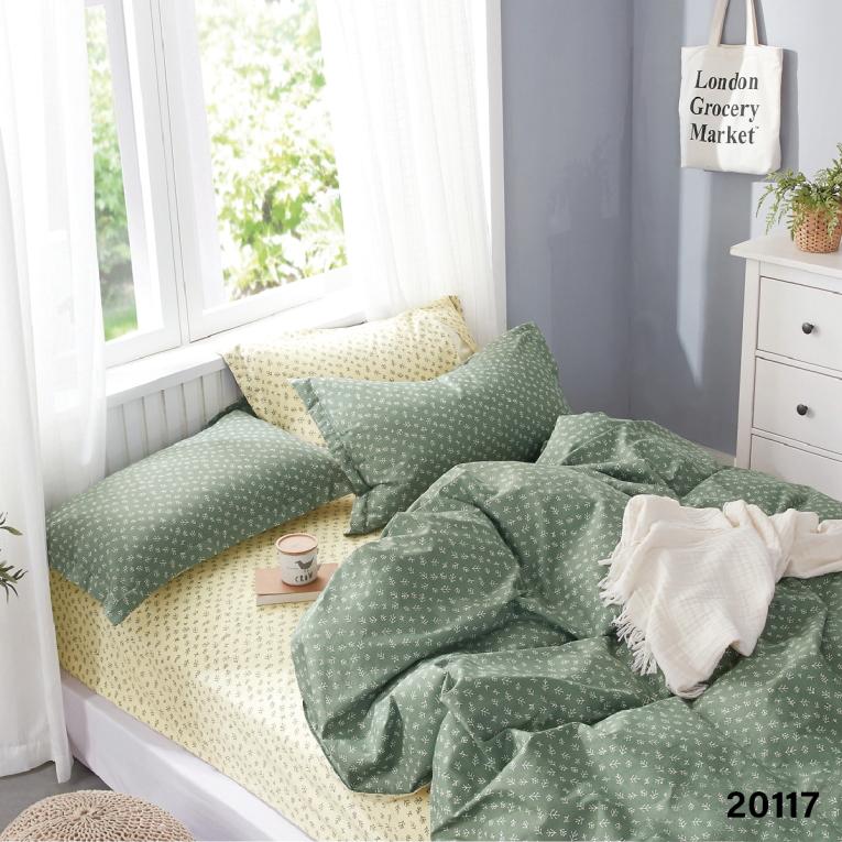 Двуспальное постельное белье 20117 Вилюта ранфорс