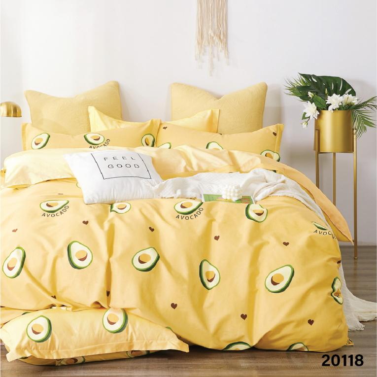 Детское подростковое постельное белье Вилюта ранфорс 20118 желтое
