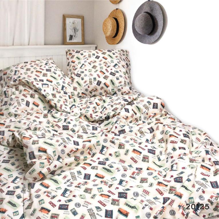 Двуспальное постельное белье 20125 Вилюта ранфорс