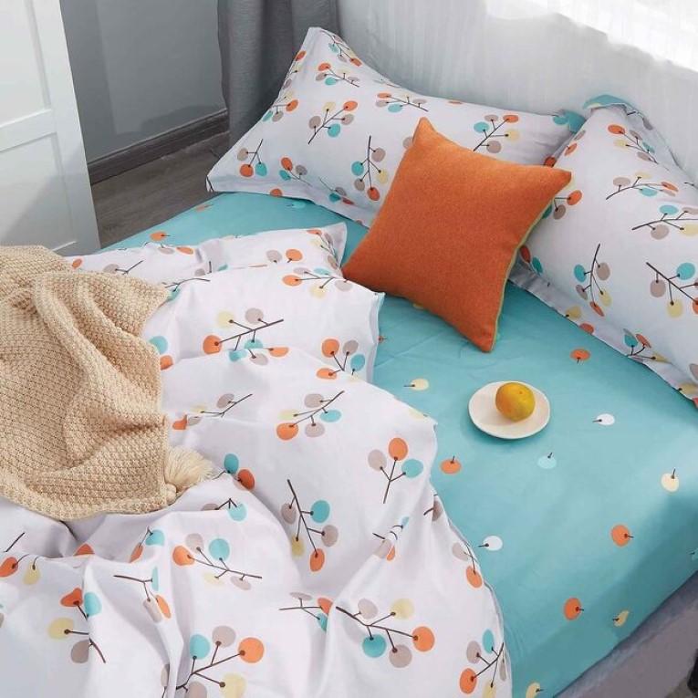 Набор постельное белье полуторное ранфорс Вилюта 20126