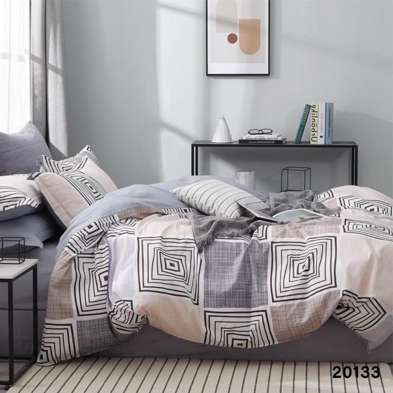 Двуспальное постельное белье 20133 Вилюта ранфорс