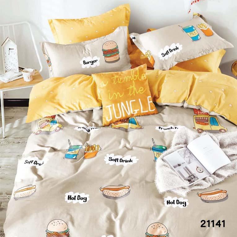 Двуспальное постельное белье 21141 Вилюта ранфорс