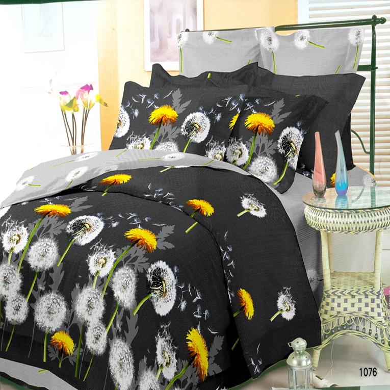 Семейный набор Вилюта ранфорс 9847 черного цвета