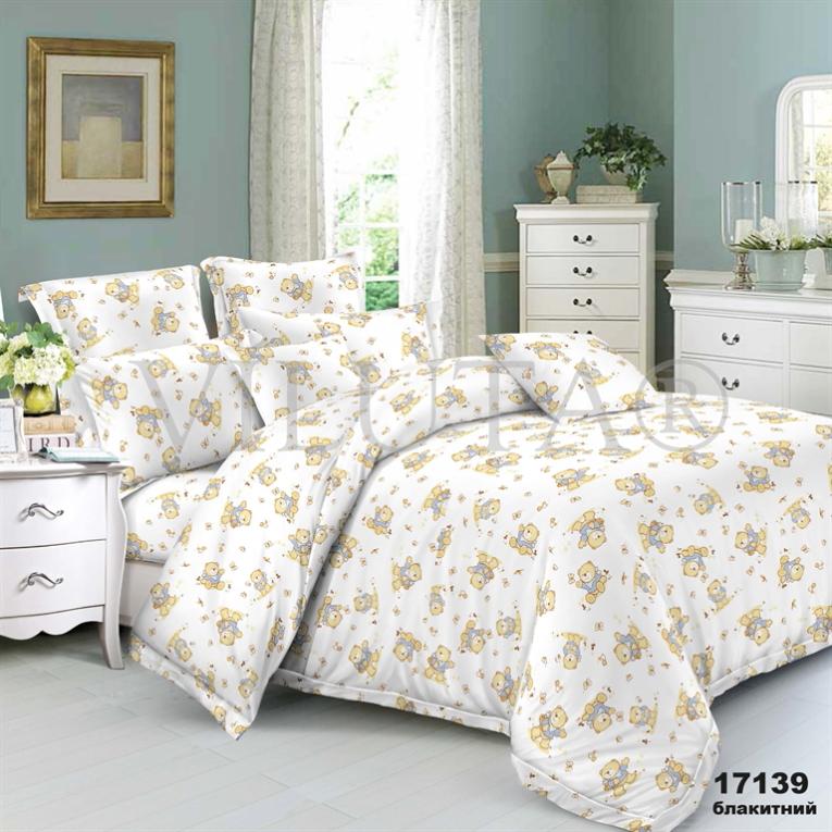 Детское постельное белье в кроватку 17139 Вилюта