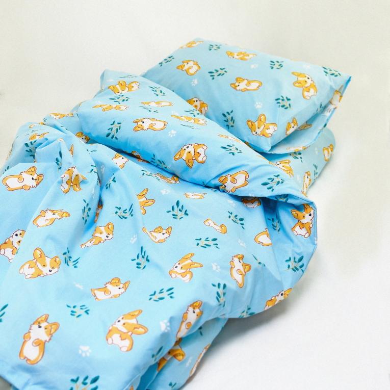 Постільна для малюків Вілюта 20122 блакитна