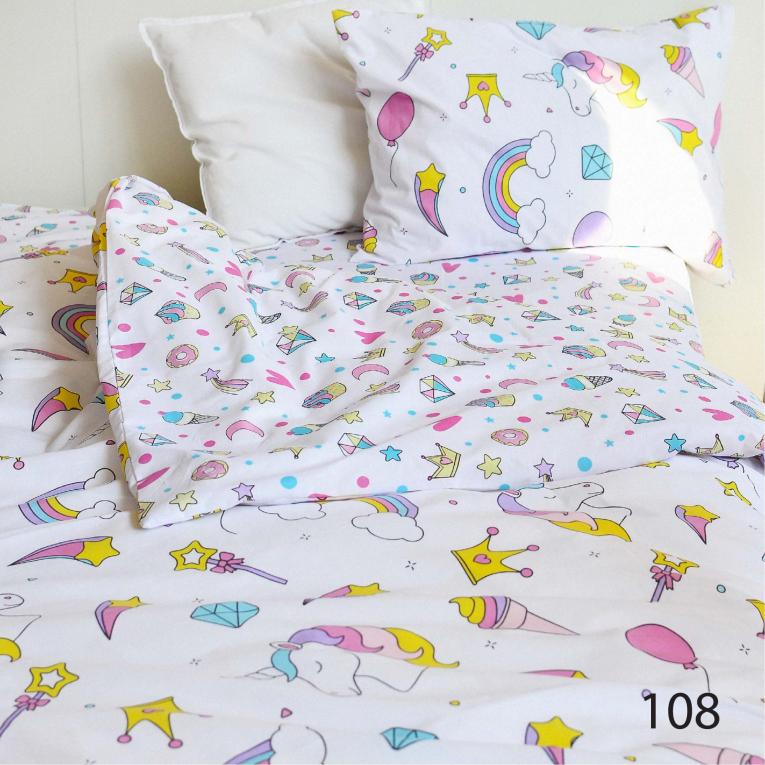 Детское постельное белье в кроватку 21108 Вилюта