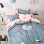 Вилюта подростковый комплект ранфорс 19007 с фламинго