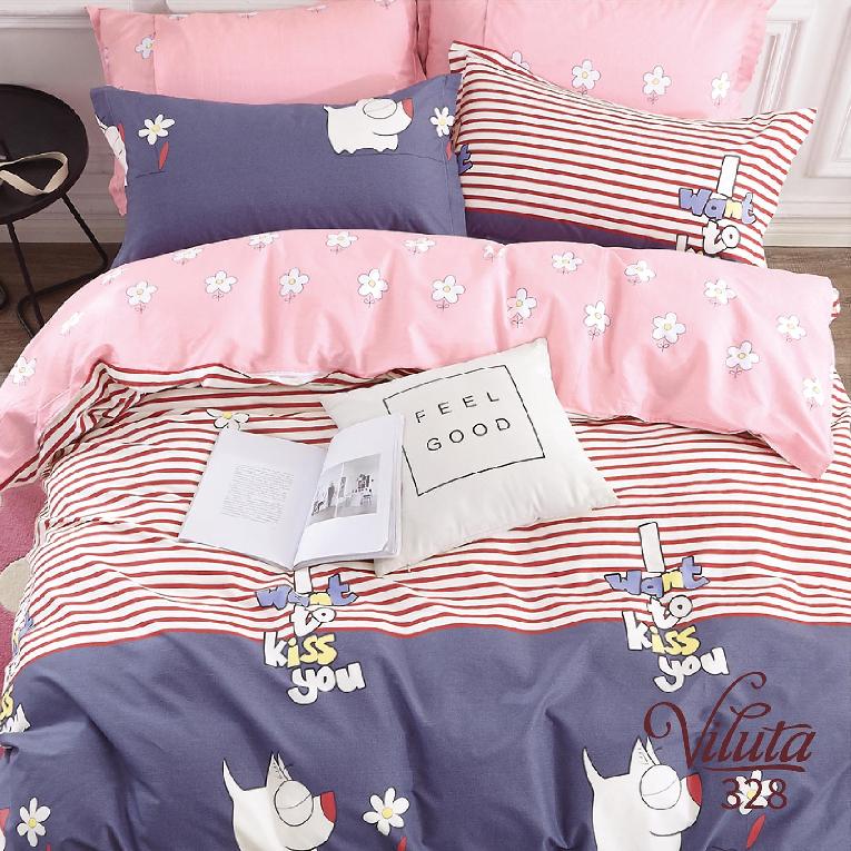 Комплект на кровать подростку сатин 328 Viluta