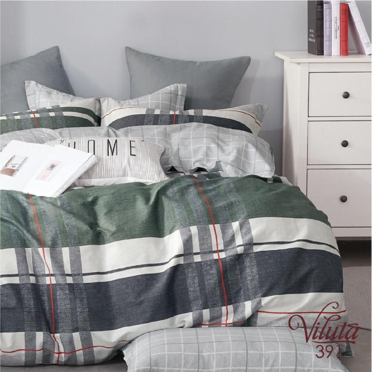 Семейный комплект Вилюта сатин 391 шотландский стиль