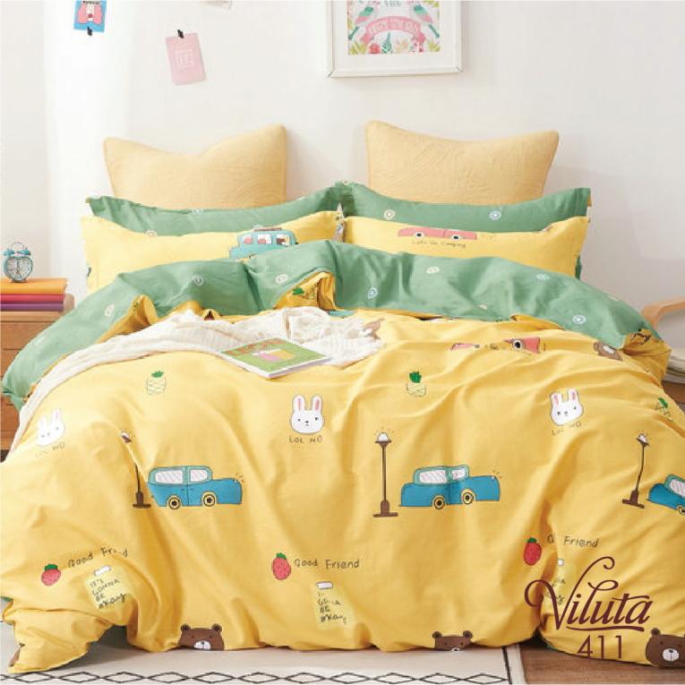 Сатиновый комплект детский в кроватку 411