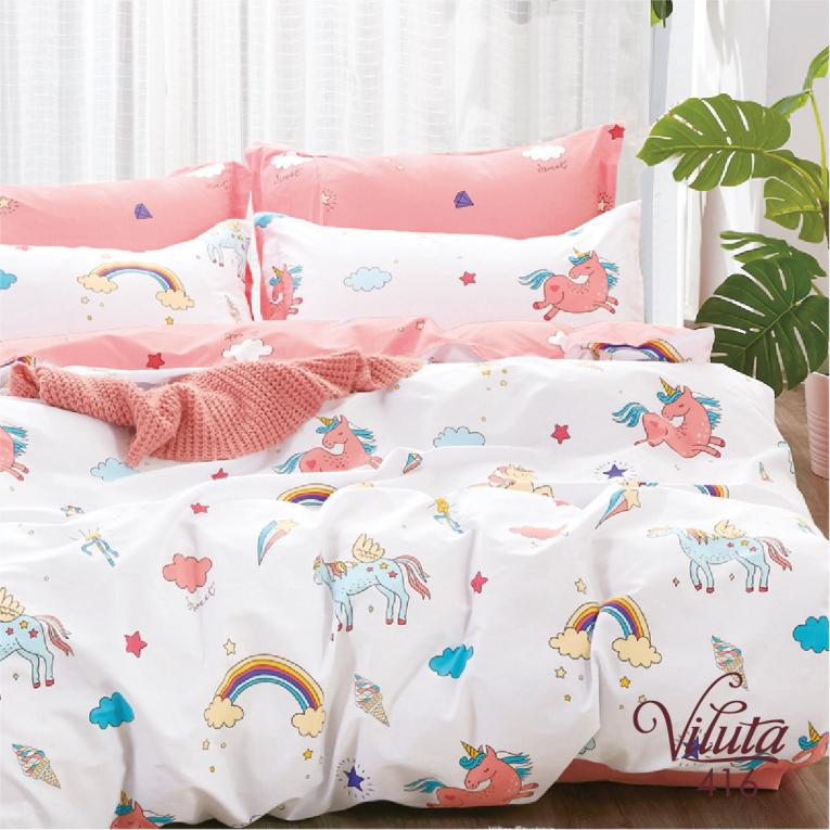 Детский комплект постельного с единорогом 416 Вилюта