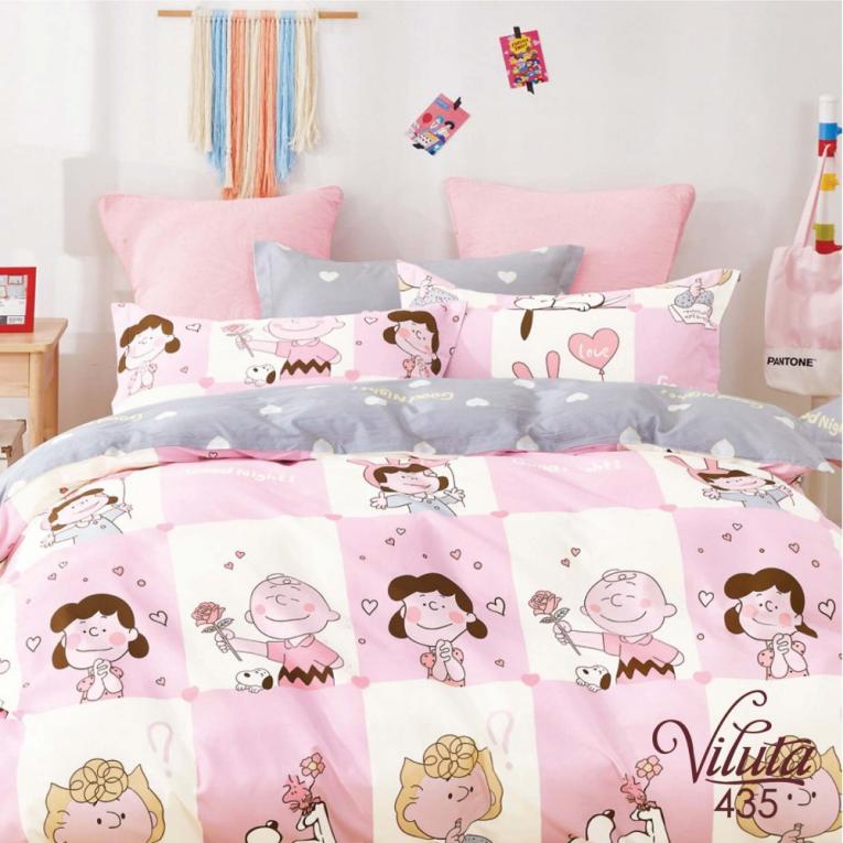 Набор детский на полуторную кровать 435 ТМ Вилюта розовое