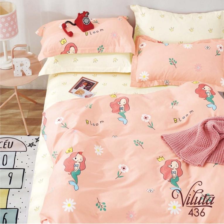 Детское постельное белье с русалочкой 436 ТМ Вилюта