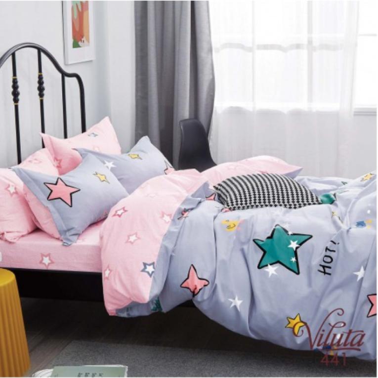 Подростковый комплект постельного белья 441 звезды