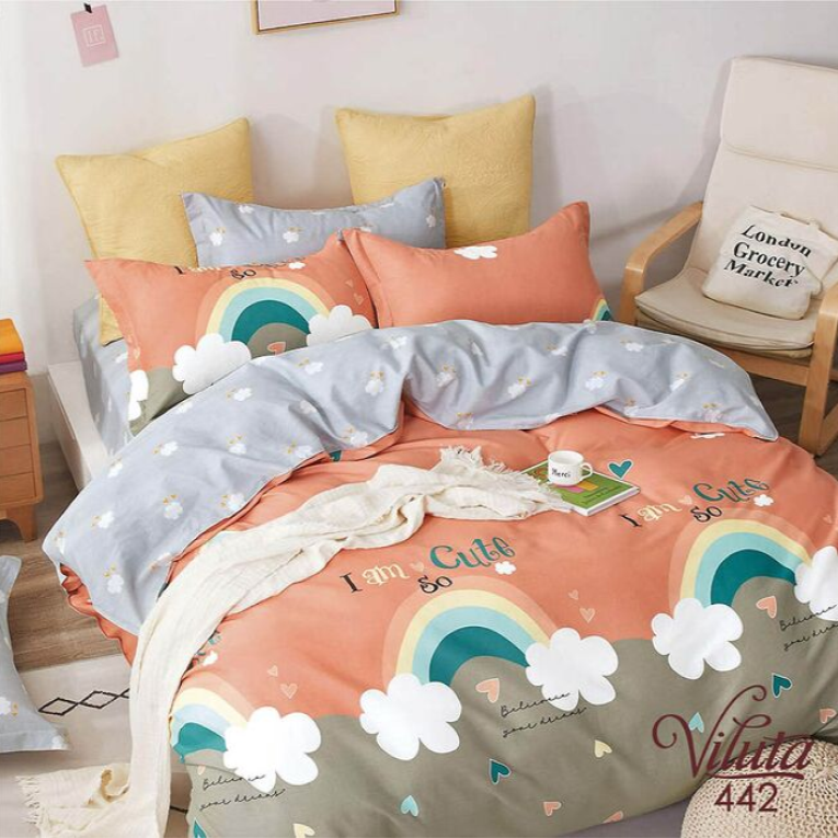 Детское постельное белье радуга Вилюта