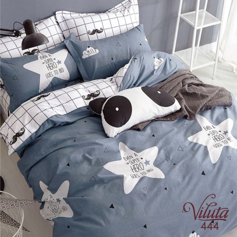 Постельное белье  Вилюта фотопринт для подростка 444 со звездами