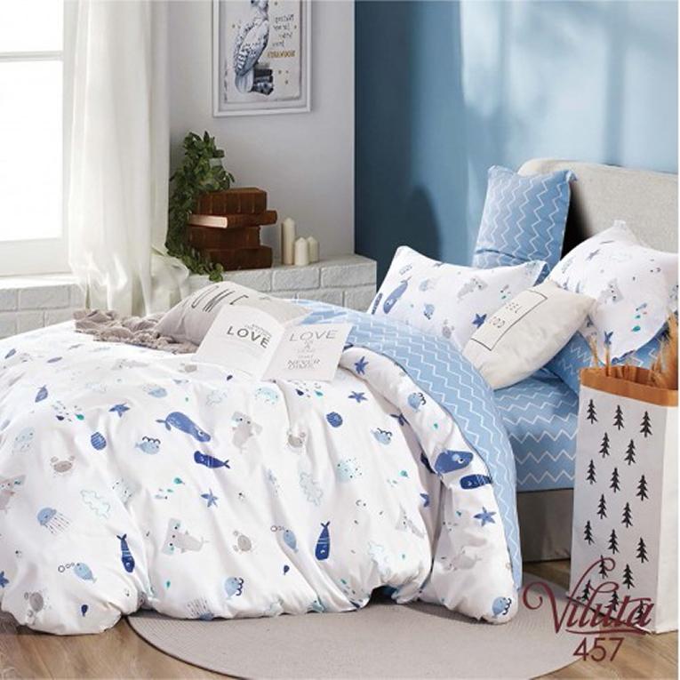 Детская сатиновая постель Вилюта 457