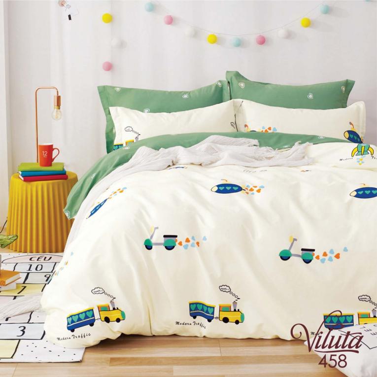 Сатиновая детская постель Viluta 458