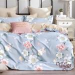 Вилюта сатин твил 476 двуспальное постельное белье сатин