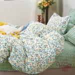 Вилюта сатин 485 двуспальное постельное белье сатин