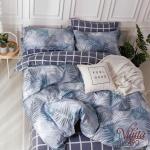 Вилюта сатин 490 двуспальное постельное белье сатин