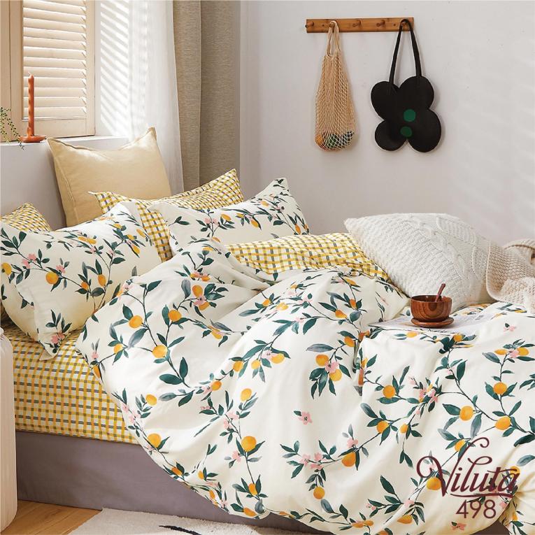 Комплект двуспального постельного белья 498 Вилюта сатин твил