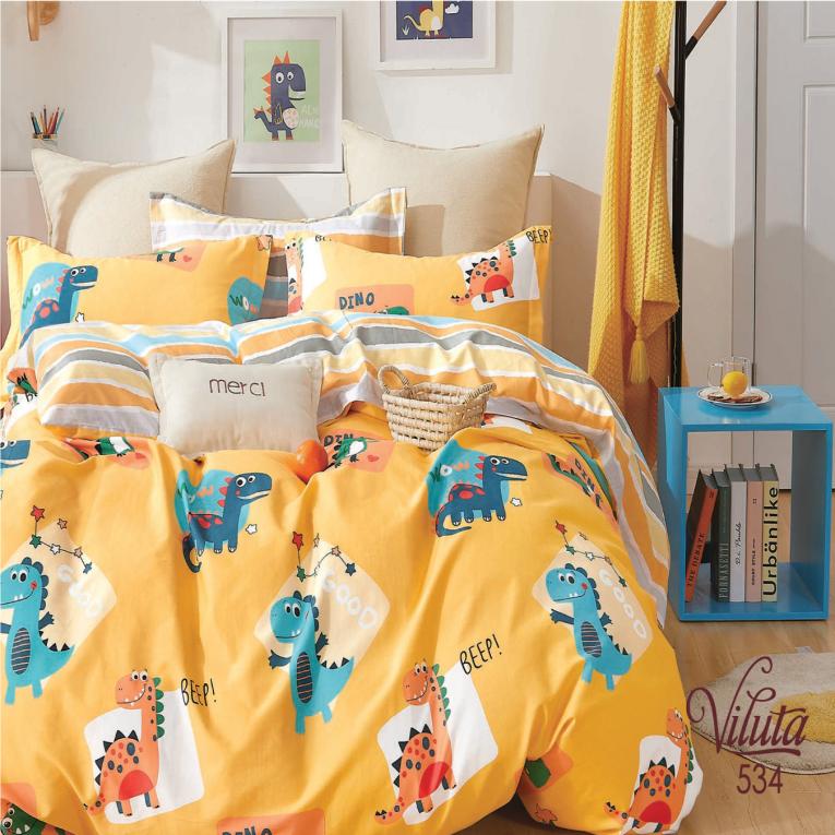 Детская постель с динозаврами Вилюта 534