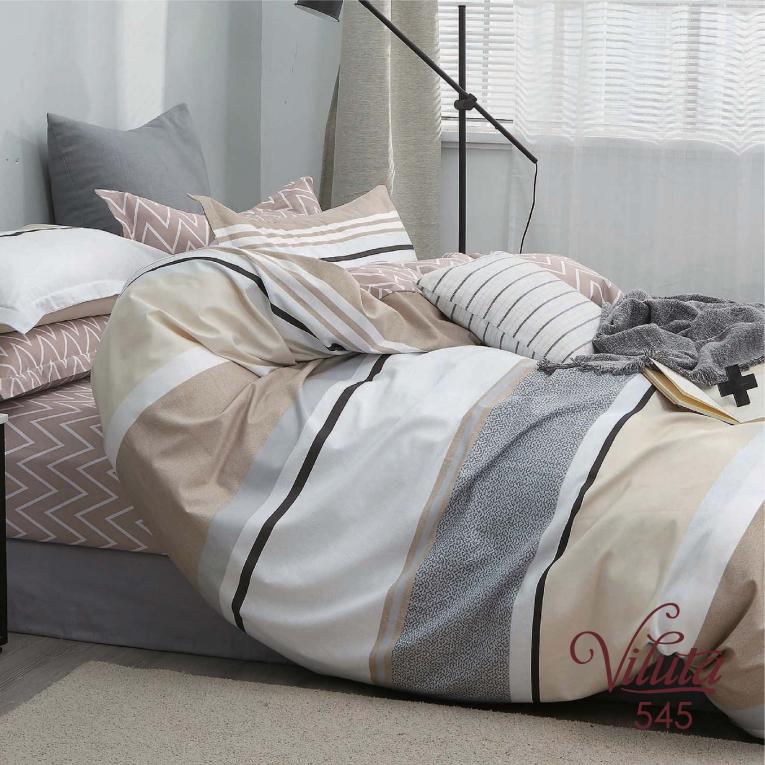 Полуторное постельное белье Вилюта 545 сатин твил
