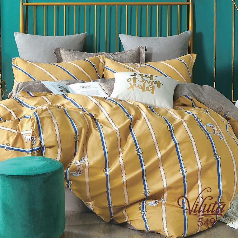Комплект полуторного постельного белья Вилюта 549 сатин