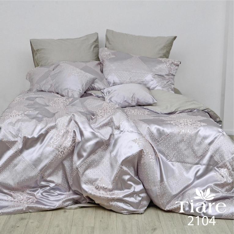 Комплект постельного белья евро сатин жаккард Вилюта Тиаре 2104