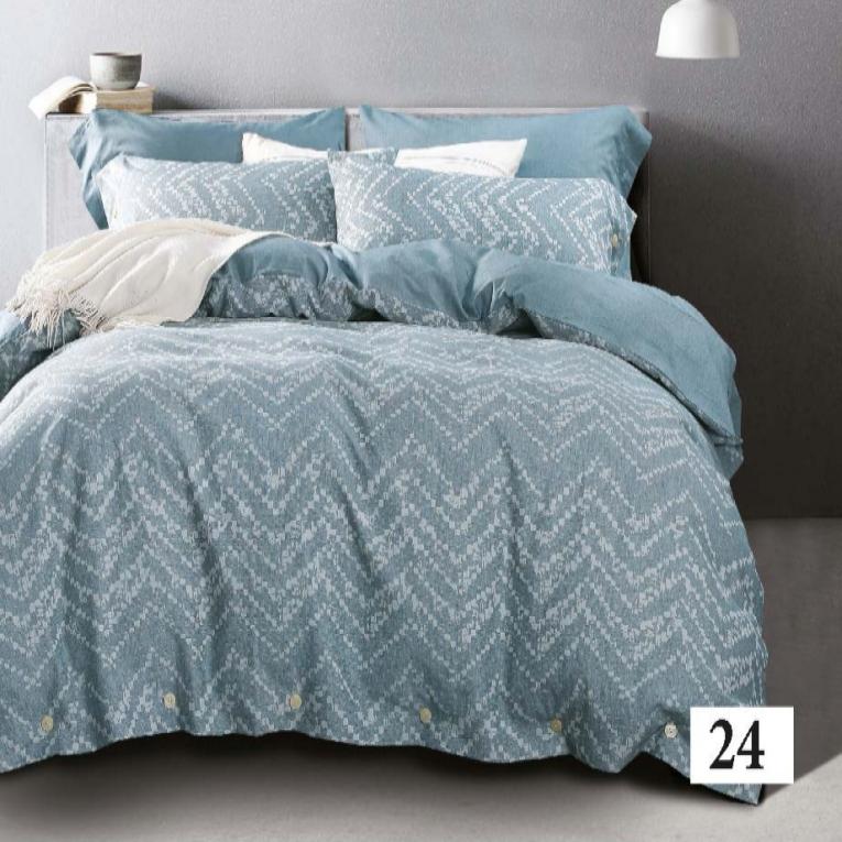 ТМ Viluta элитное постельное белье вареный хлопок Wash Тiare 24